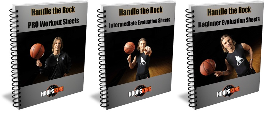 Handle the Rock Dribbling Workout Sheets