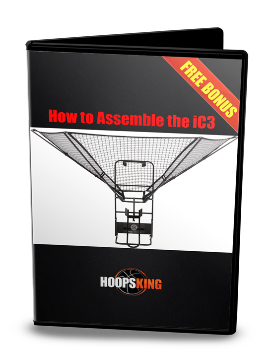 ic3 basketball shot trainer assembly