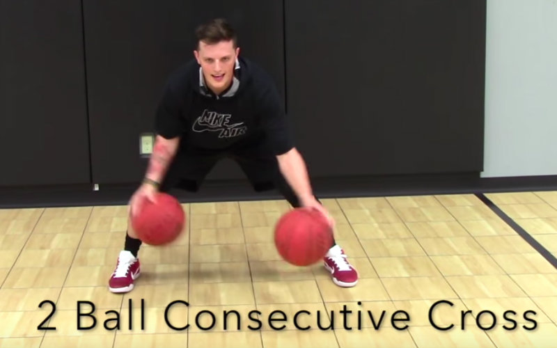 Crossover Basketball Drills