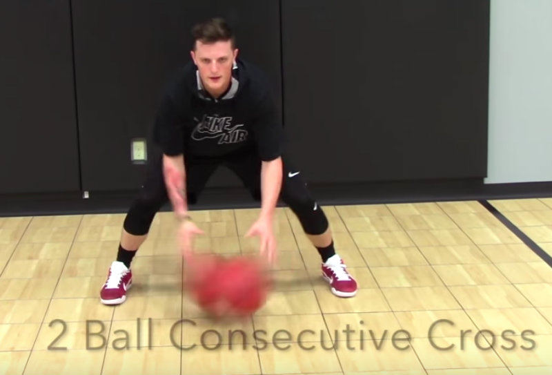 get better at dribbling basketball