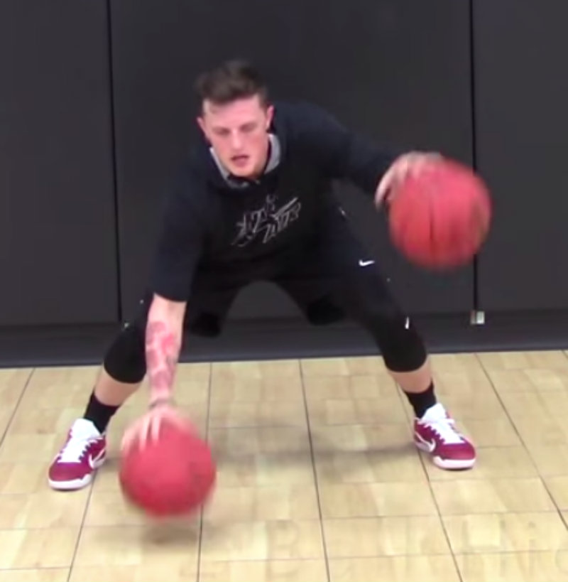 Advanced Dribbling Basketball