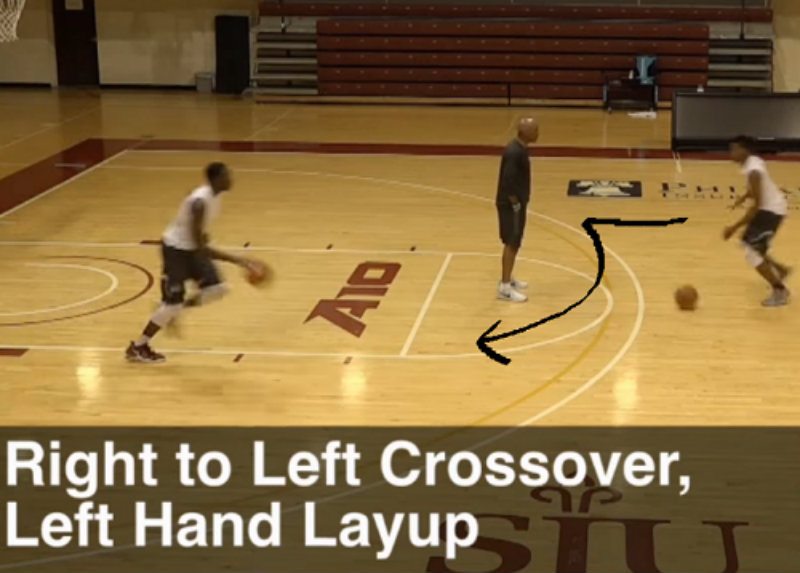 Crossover dribble