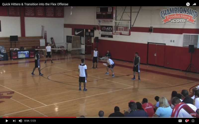 flex offense in high school basketball