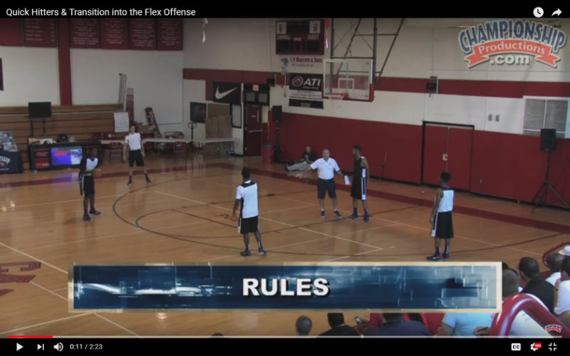 flex offense basketball
