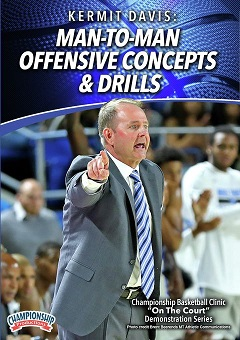 Passing drills by Kermit Davis