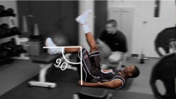 Increase hip and glute strength to jump higher
