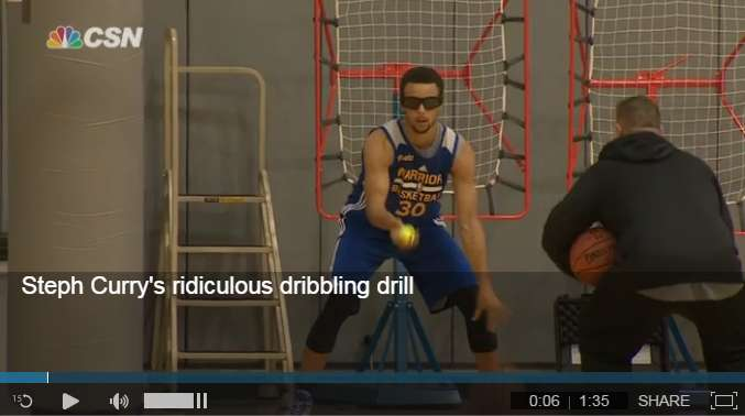Steph Curry Dribbling Drills