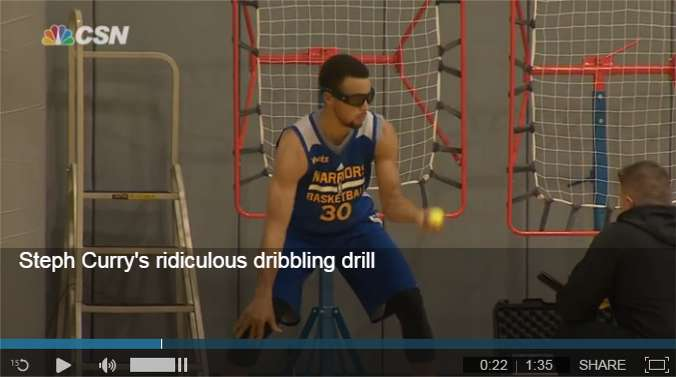 Steph Curry Dribbling Workout