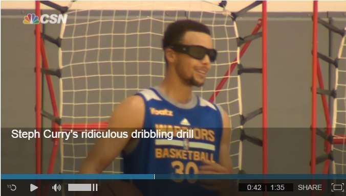Steph Curry Dribbling Video