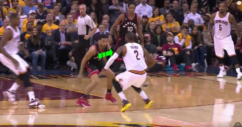 Kyrie Irving Behind the Back Dribble