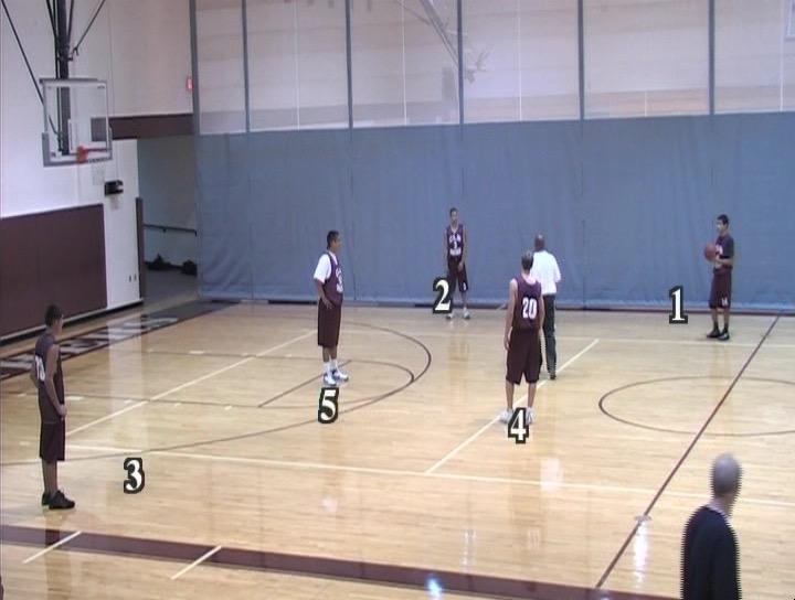 Michigan 2 Guard Offense Tom Jicha