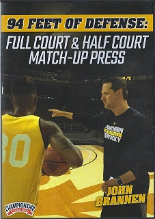 Half court match up press by Phil Brannen