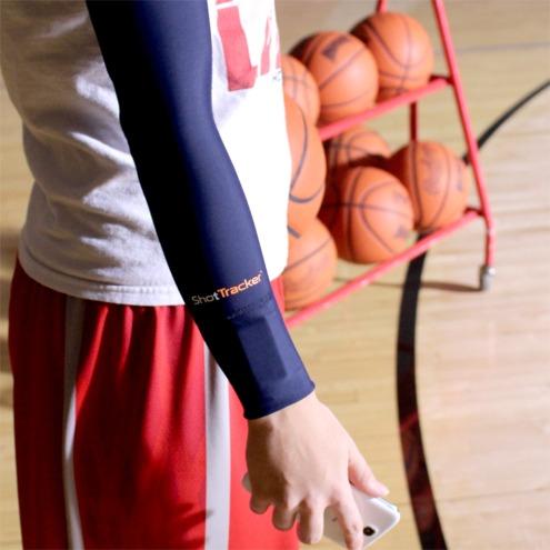 ShotTracker Sleeve with Sensor