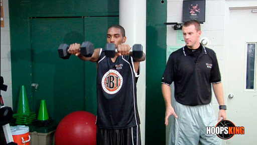 Alan Stein Weight Lifting Exercises Basketball